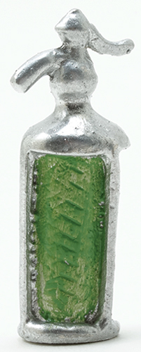 Dollhouse Miniature Seltzer Bottle