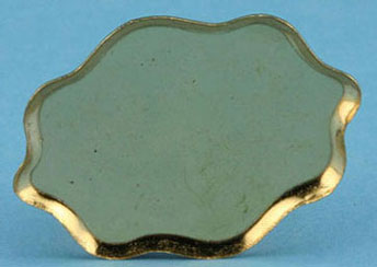 Dollhouse Miniature Queen Anne Brass Tray