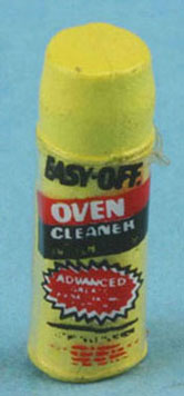 Dollhouse Miniature Easy Off Oven Cleaner