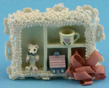 Dollhouse Miniature Shadow Box-Country