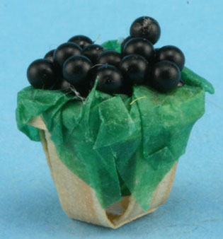 Dollhouse Miniature Basket Of Berries