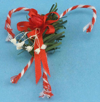Dollhouse Miniature Candy Canes Wall Decoration