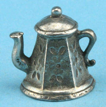 Dollhouse Miniature Coffee Pot/Antiqued