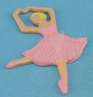 Dollhouse Miniature Ballerina Plaque