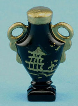 Dollhouse Miniature Oriental Urn