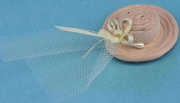 Dollhouse Miniature Victorian Ladies Hat