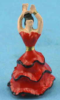 Dollhouse Miniature Flamenco Dancer