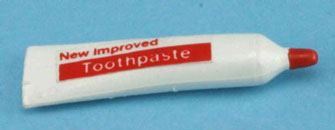 Dollhouse Miniature Toothpaste
