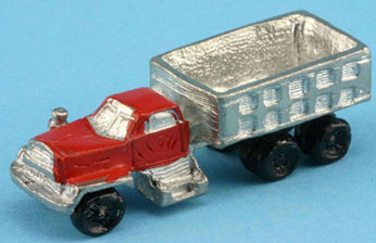 Dollhouse Miniature Truck