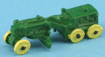 Dollhouse Miniature Tractor