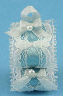 Dollhouse Miniature Victorian Bath Tissue Holder