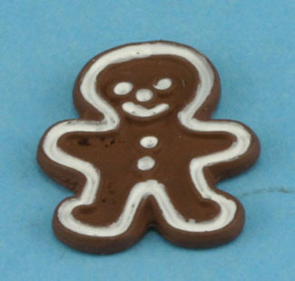 Dollhouse Miniature Gingerbread Cookie 1Pc.