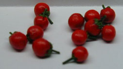 Dollhouse Miniature Tomatoes S/12