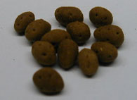 Dollhouse Miniature Potatoes, S/12