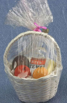 Buy alcohol gift baskets - Sm186 - Gift Basket W/Fruit & Liquor