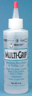 Dollhouse Miniature Multi-Grip All-Purpose Glue, 4oz..