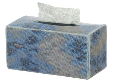 Dollhouse Miniature SILVER FACIAL TISSUE
