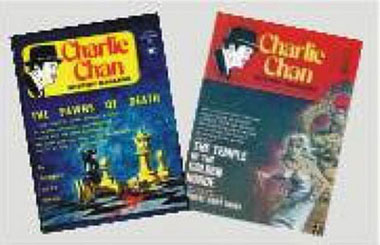 Dollhouse Miniature CHARLIE CHAN MAGAZINES/2
