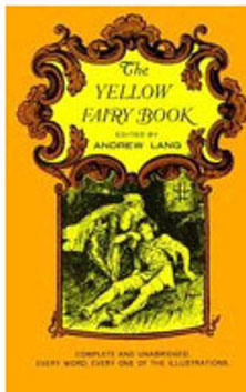 Dollhouse Miniature THE YELLOW FAIRY BOOK