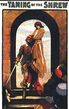 Dollhouse Miniature TAMING OF THE SHREW