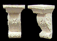 Dollhouse Miniature Brackets, 1/Pair