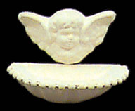 Dollhouse Miniature Yard Ornament, Angelic Lavour