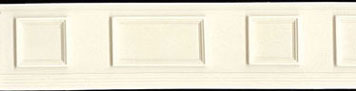 Dollhouse Miniature Wainscot
