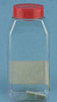 Dollhouse Miniature Canister Shaker 32oz..