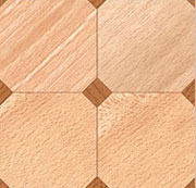Dollhouse Miniature Tile, Diamond Parquet, 4Pk, 1/24