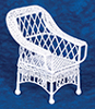 Dollhouse Miniature Bar Harbor Chair