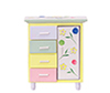 Dollhouse Miniature Baby Wardrobe, Multicolor