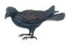 Dollhouse Miniature American Crow