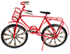 Dollhouse Miniature Red Bicycle