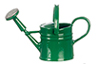 Dollhouse Miniature Green Watering Can
