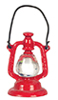 Dollhouse Miniature Lantern, Red