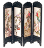Dollhouse Miniature Chinese Screen, Birds