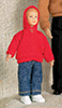Dollhouse Miniature Christopher Donnelly Boy