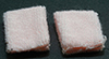 Dollhouse Miniature Pink Towel Set, 2pc
