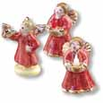 Dollhouse Miniature Reutter's Porcelain Fine Dollhouse Miniature Angel Figurines