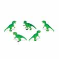 Dollhouse Miniature Micro-Mini T-Rex 12Pc