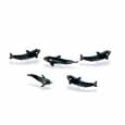 Dollhouse Miniature Micro-Mini Killer Whale 12Pc