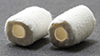 Dollhouse Miniature Toilet Tissue White 2 Rolls