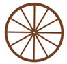 Dollhouse Miniature Wagon Wheel, 3 In.