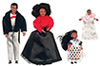 Dollhouse Miniature Victorian Black Family/4