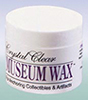 Dollhouse Miniature Clear Museum Wax, 2 Oz