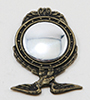 Dollhouse Miniature Small Eagle Mirror
