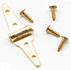 Dollhouse Miniature Triangle Hinges, 4 Pk