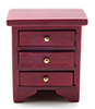 Night Stand, Mahogany