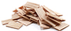 Dollhouse Miniature Shingles: Cedar Rectangle 300/Pk