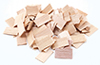 Dollhouse Miniature Shingles: Cedar Rectangle 1,000/Pk